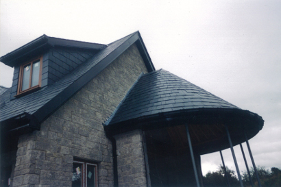 Conical roof